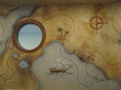 Pirate - map ship