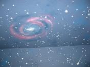 Sky galaxy swirl