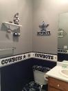 Cowboys bathroom