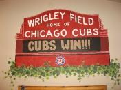 Sports - Wrigley marquee