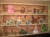 Toys - shelf
