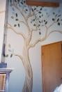 Tree around door