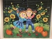 Scarecrow couple