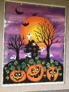 Haunted pumpkins