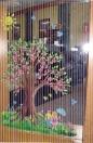 Windows --pink blossoms