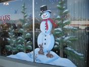 Windows - snowman