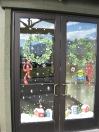 Windows - wreath village
