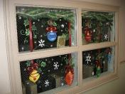 Windows - Bright ornaments