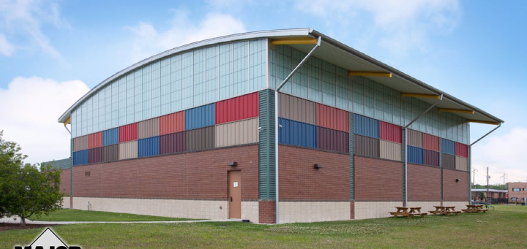 Major Industries Translucent Wall Panel System – Salvation Army – Exterior