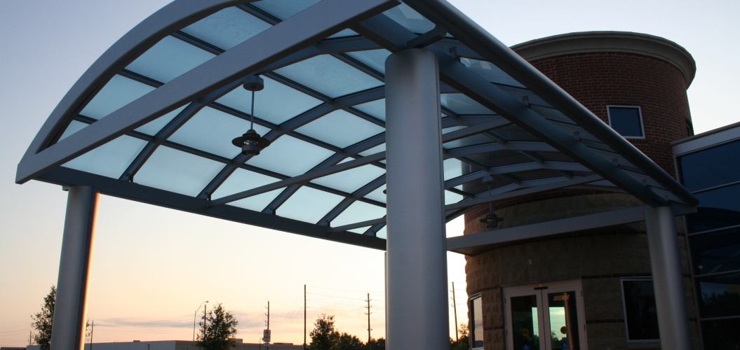 Structural Glass Skylight Canopy