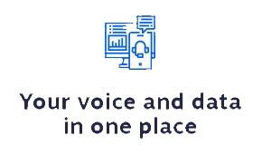 Your voice and data in one place