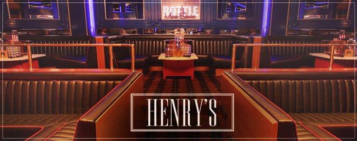 Hooray Henrys LA Club Bottle Service