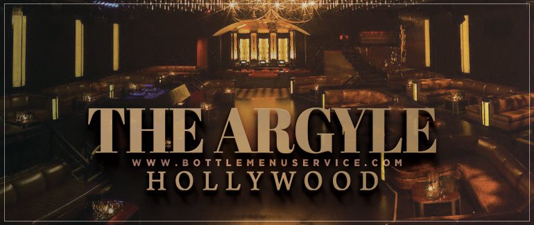 Argyle Hollywood LA Club