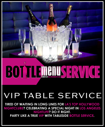 VIP Table Booking Bottle Service