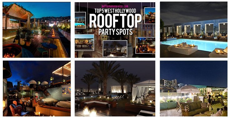 5 Hottest Rooftop West Hollywood Bars in LA