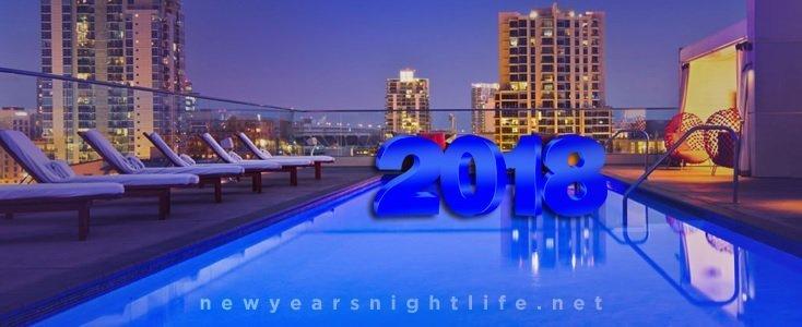 Andaz Hotel Rooftop STK | San Diego NYE New Years 2018