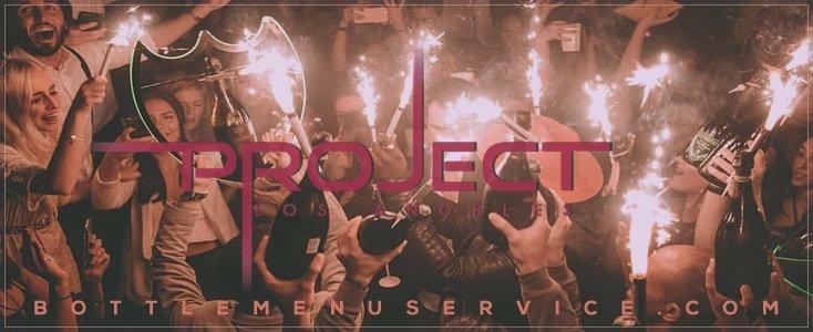 Project Nightclub Bottle Service in Project Club LA