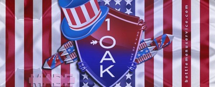 1 OAK Tuesdays 4th July 1 OAK LA
