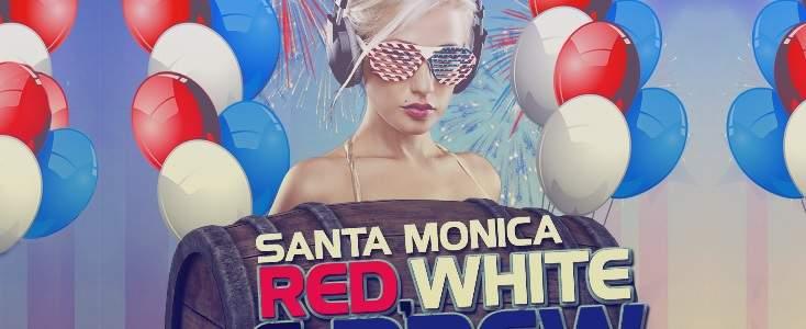 Santa Monica Pre 4th July Red White And Brew PubCrawl