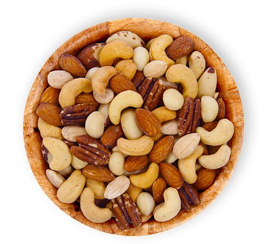 Mixed Nut Bowl