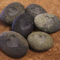 Pocket Rocks of Hearts