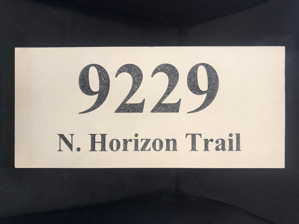 Address with Street Name