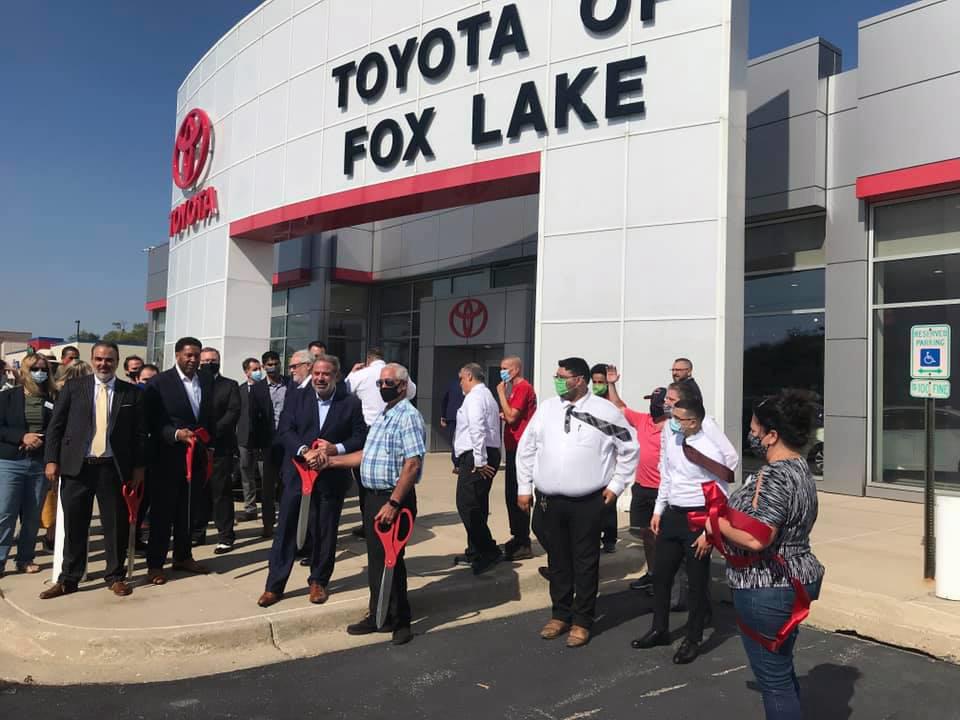 Toyota of Fox Lake Ribbon Cutting
