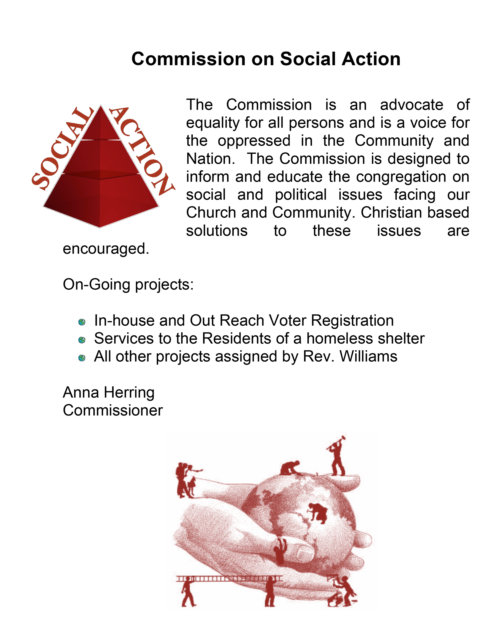 Commission On Social Action