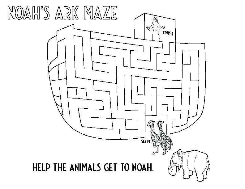 Noahs Ark Maze