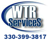 WTR Services Best Dumpster Rental Mahoning Valley, Warren, Newton Falls, Lordstown, Ravenna, Garrettsville, Cortland, Champion, Howland, Niles, Mckinley Heights, McDonald, Weathersfield, Mineral Ridge, Girard, Youngstown, Boardman, Canfield, Poland, Campbell, Struthers, Solon-Sharon PA-Hermitage,PA Logo