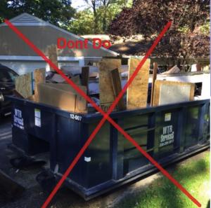 home dumpster rental residential