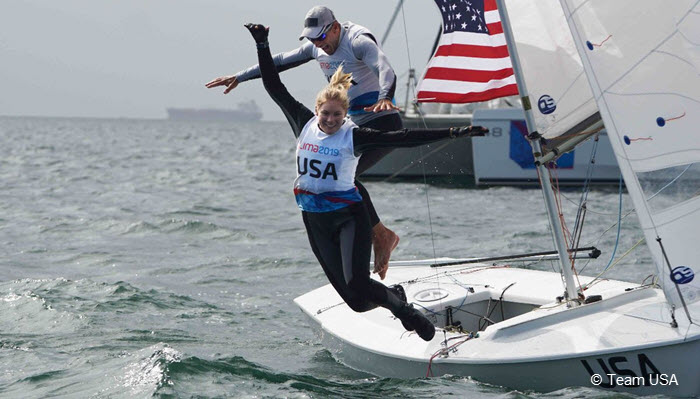 Laser Radial sailor and fitness athlete Paige Railey