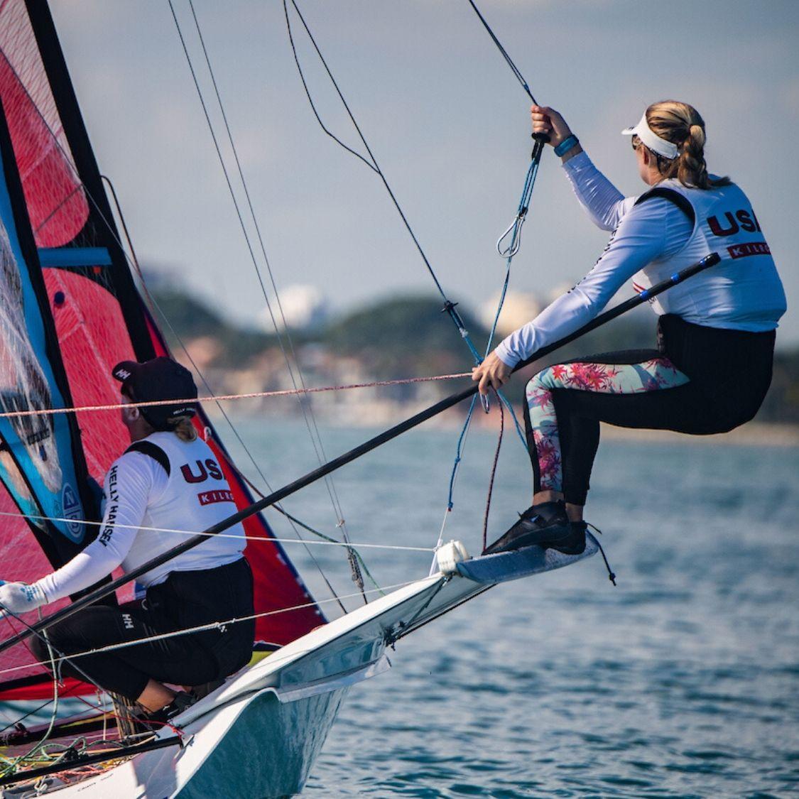 SPT athlete steph roble professional sailor fitness program