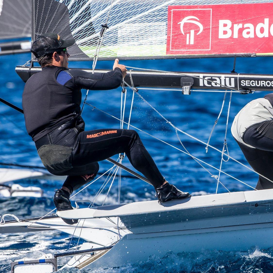 sailing performance training athlete carlos robles professional sailor
