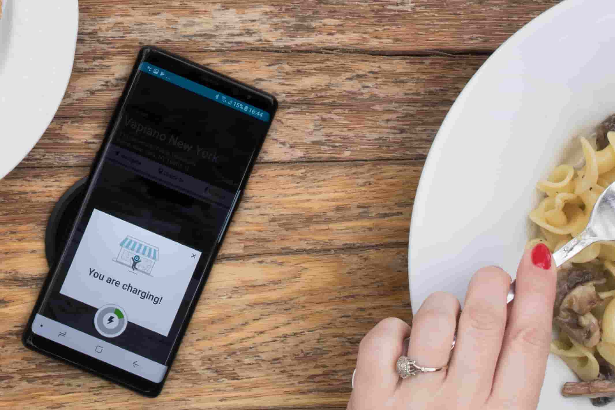 Wireless charging for Samsung Galaxy S9