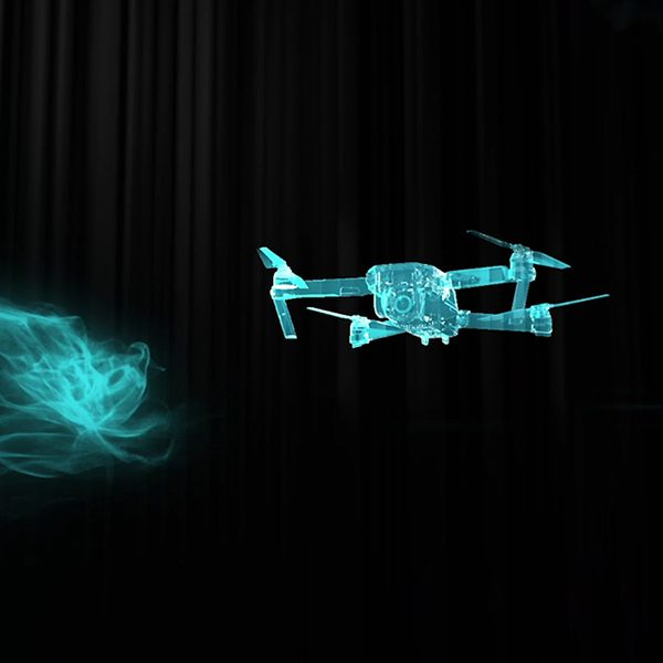 WIRELESS CHARGING FOR DRONES