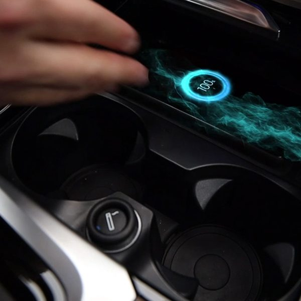 in-car wireless charging