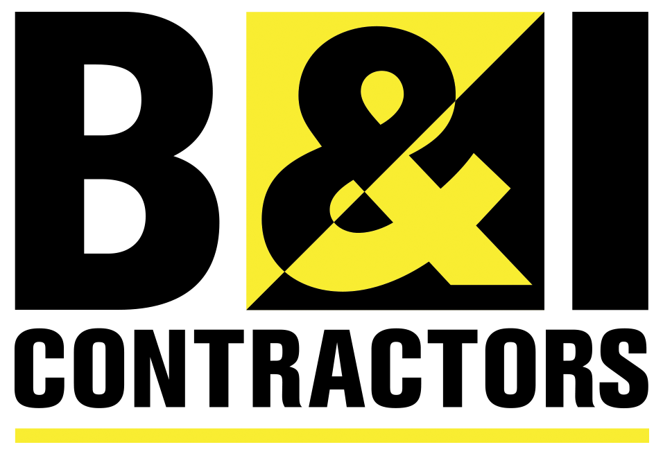 Logo for B&I Contractors