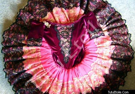 Pink and Black Paquita