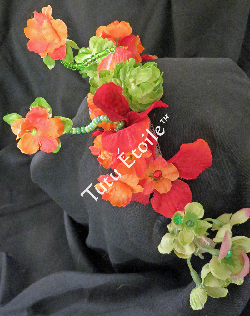 Flowers with Beads