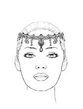 gamzatti headpiece