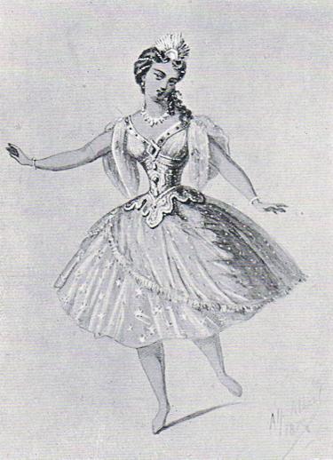 Original costume designs by Alfred Albert-1870