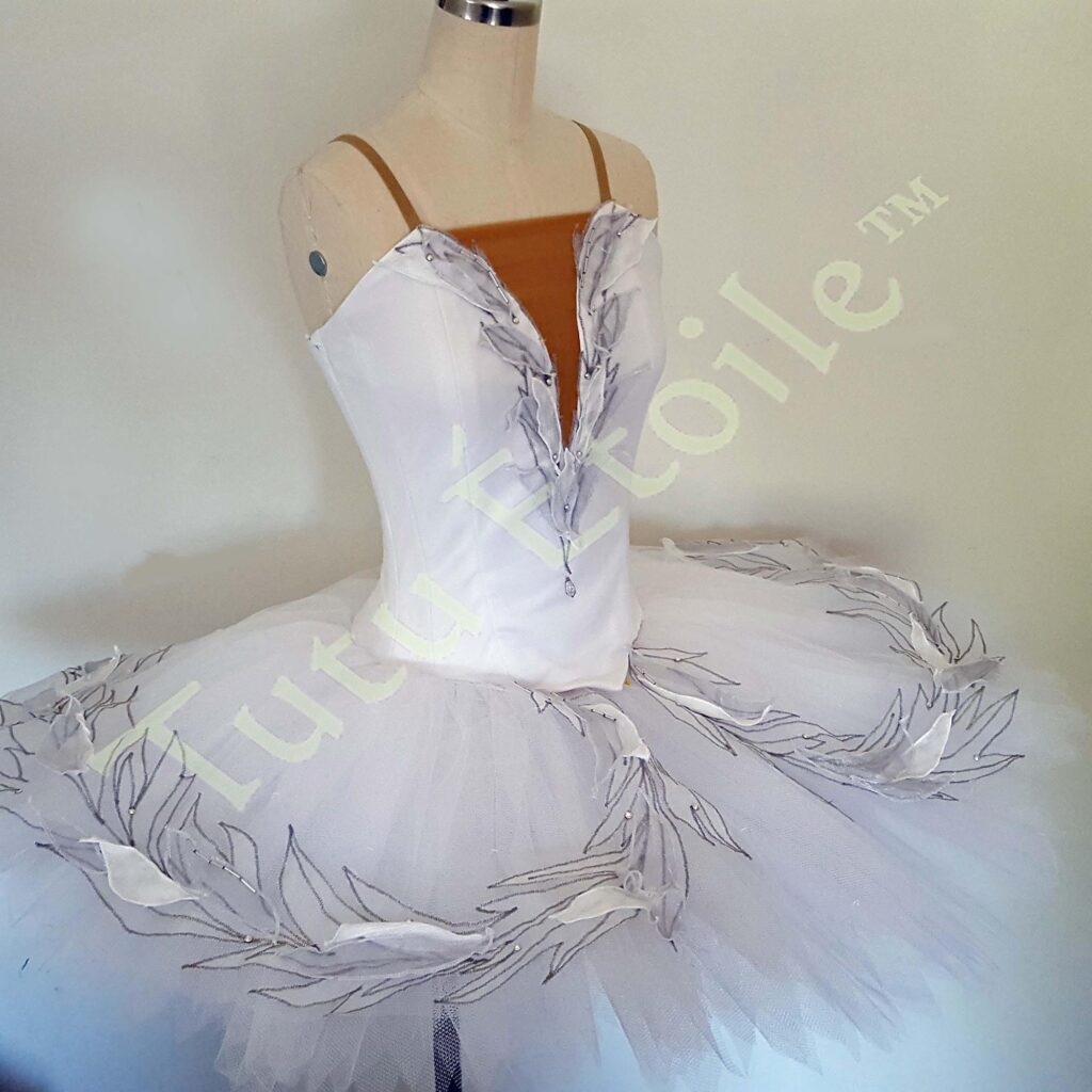 Odette with Organza Feathers