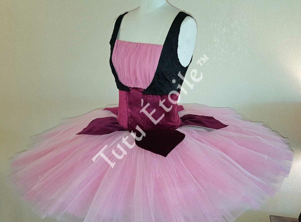 Pink, Black and Burgandy