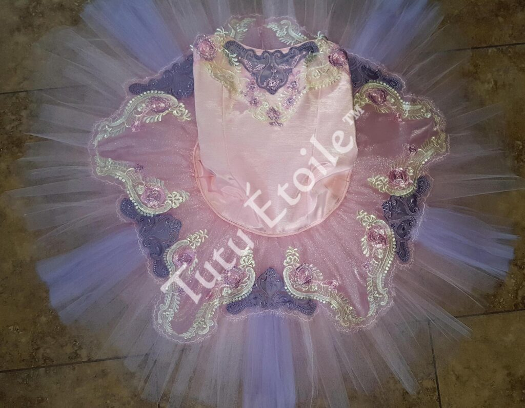 Pink and Lilac Sugar Plum Fairy
