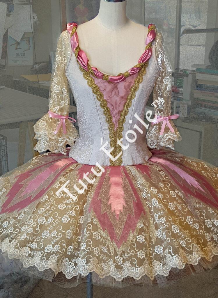 Ivory and Rose Sugar Plum Fairy