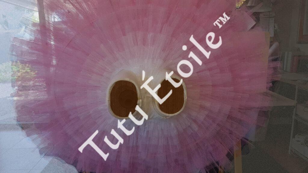 Pink under side of tutu