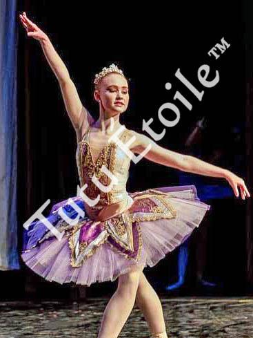 Purple and Gold Sugar Plum Fairy