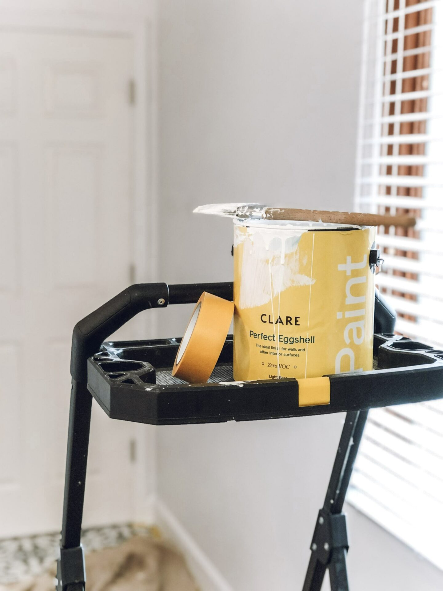 paint diy laundry room makeover