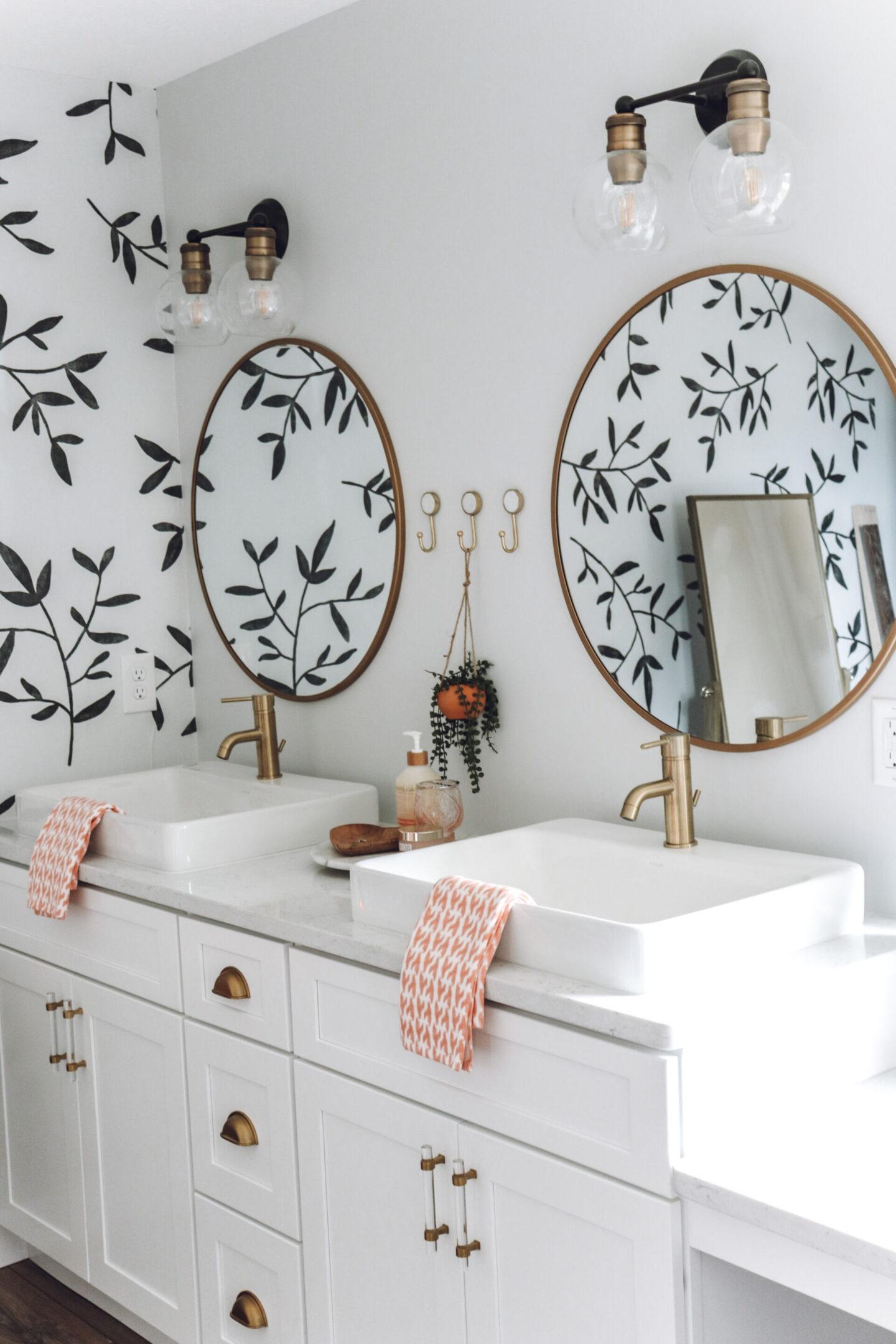 gold master bathroom Master Bathroom Remodel